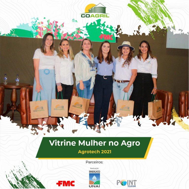 Vitrine Mulher no Agro – AgroTech 2021