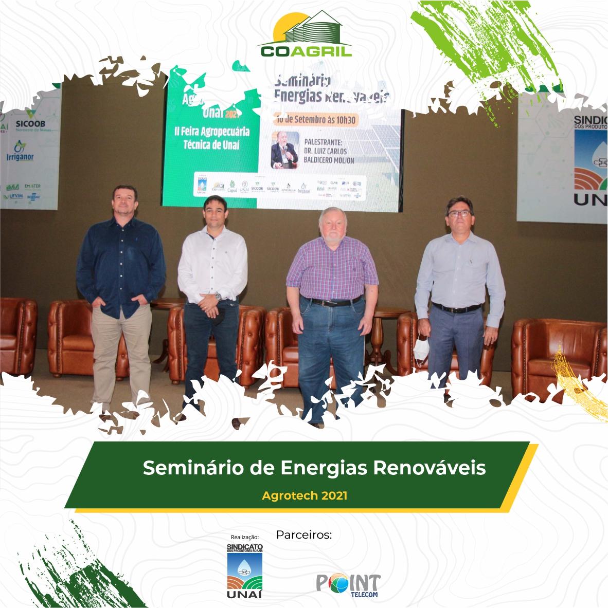 Seminário de Energias Renováveis – AgroTech 2021